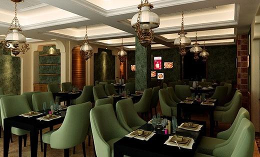 西餐厅沙发翻新