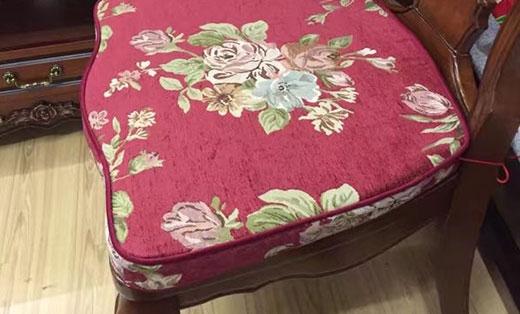 重庆实木沙发垫定制