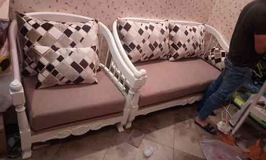欧式布艺沙发维修